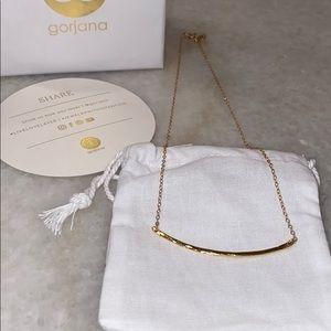 Gorjana Gold bar necklace